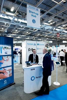 Portal Instruments at the Pharmapack Start-up Hub in February 2017 (PRNewsfoto/UBM EMEA)