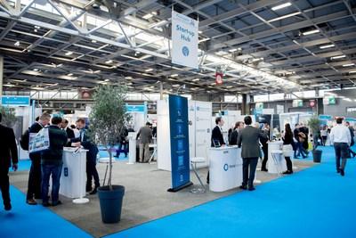 Start-up Hub at Pharmapack Europe 2017 (PRNewsfoto/UBM EMEA)