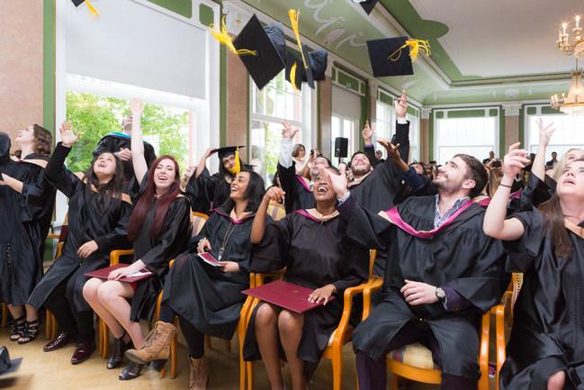 Graduation at Schiller International University Heidelberg, Germany