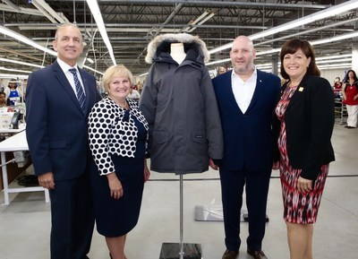 Operational expansion is expected to create more than 325 new jobs by end of 2018 (CNW Group/Canada Goose)