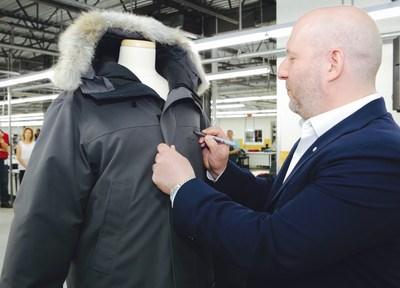 L'expansion des activités permettra la création de plus de 325 nouveaux emplois d'ici la fin de 2018 (Groupe CNW/Canada Goose)
