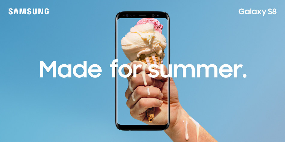 Samsung Galaxy S8/S8+ are Made for Summer