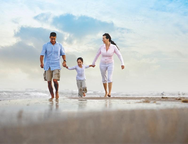 South Padre Island ofrece el ambiente ideal para una vacación familiar inolvidable.