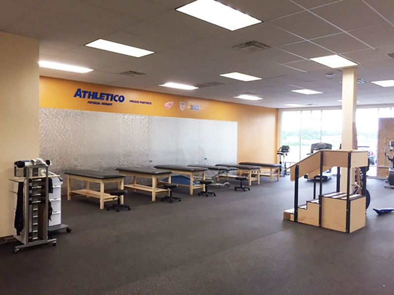 Athletico Ann Arbor is conveniently located in Maple Village, across the street from Westgate Shopping Center.