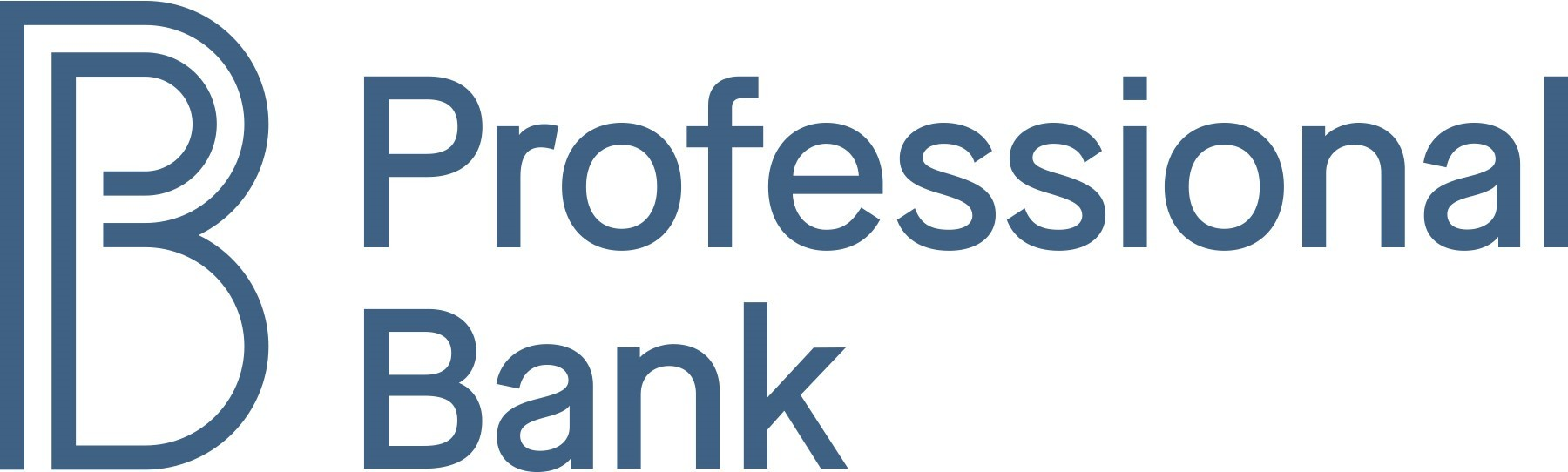 Professional Bank logo (PRNewsfoto/Professional Bank)