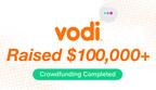 Vodi Closes Successful Crowdfunding Round With $100,000+ Raised