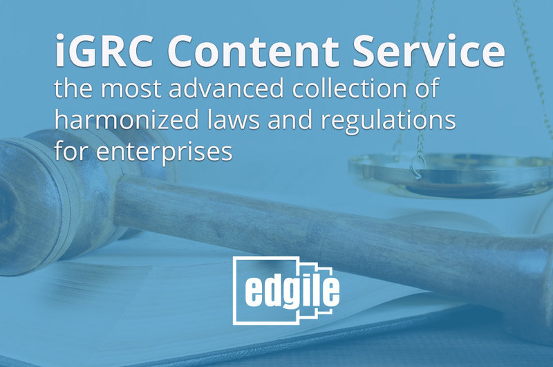 In today's shifting compliance environment, Edgile's iGRC Content Service provides the critical, up-to-date harmonization which a modern compliance program demands. Built on the iGRC content platform, Edgile's Technology Diagnostics offer immediate assessment capabilities, delivering regulatory snapshots that teams can use to better understand their organization's security posture.