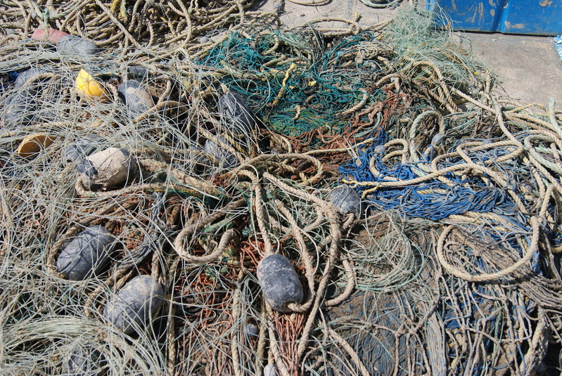 Ghost fishing gear recovered from the Gulf of California by World Animal Protection, CIRVA, and Monterey Bay Diving. (c) World Animal Protection