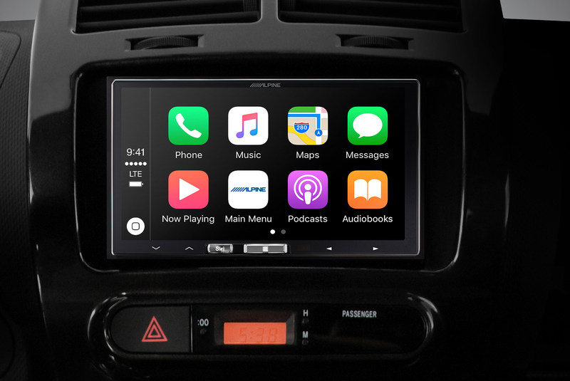 The iLX-107 is the first  aftermarket in-dash receiver dedicated to wireless Apple CarPlay.