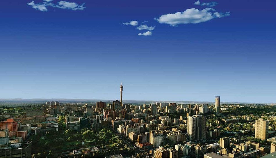 Johannesburg rated among the world's most inspiring cities.