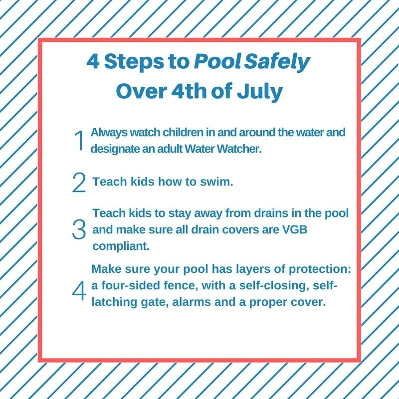 4 Steps to Pool Safely Over 4th of July