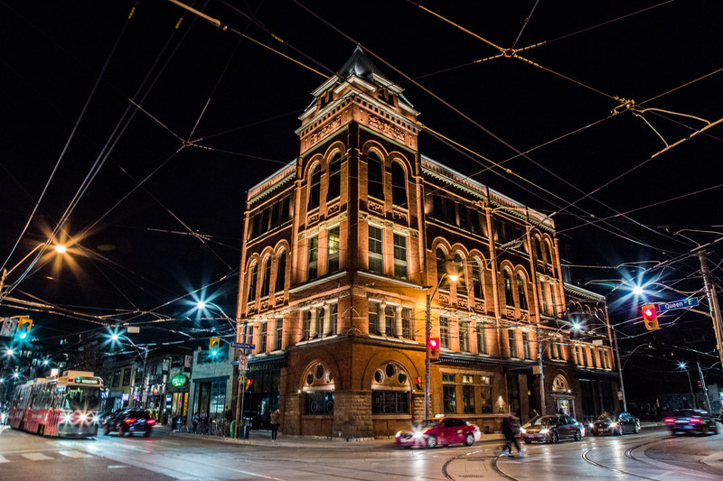 The Broadview Hotel's restored façade. Photo credit: Michael Rousseau (CNW Group/The Broadview Hotel)