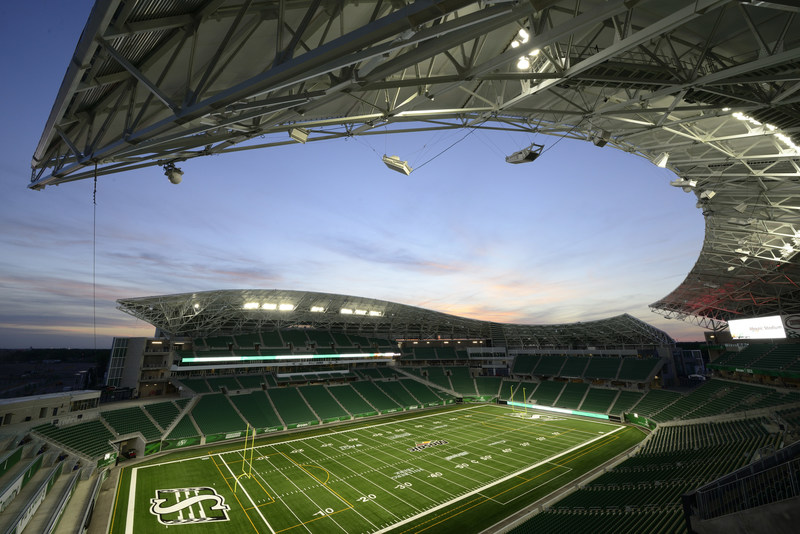 City celebrates Mosaic Stadium grand opening (CNW Group/City of Regina)