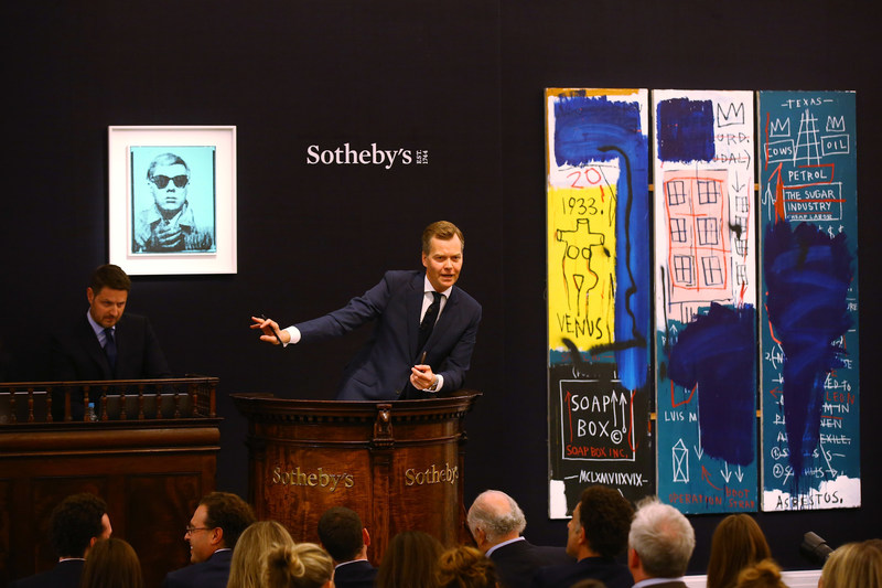 Sotheby's June 2017 sales of Contemporary Art in London achieved $105.7 million and were led by major American artists, including Jean-Michel Basquiat and Andy Warhol.