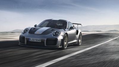La nouvelle Porsche 911 GT2 RS. (Groupe CNW/Automobiles Porsche Canada)