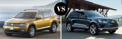 Car shoppers near Ramsey can now test drive the 2018 Volkswagen Atlas SUV at Joe Heidt Motors Corporation.