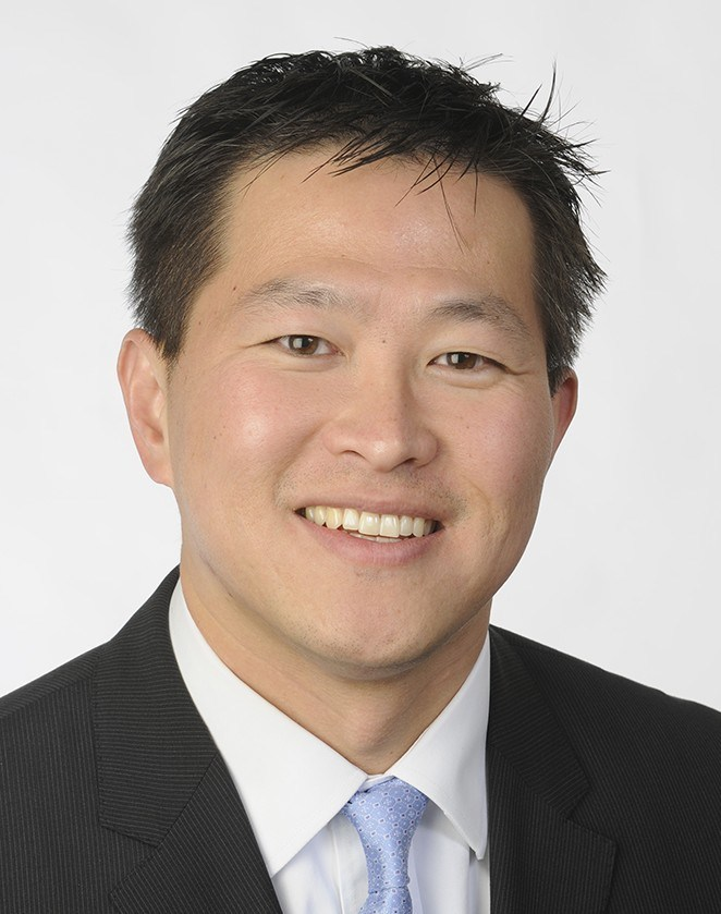 Jaewon Ryu, M.D., Geisinger executive vice president and chief medical officer