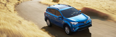 The 2017 Toyota RAV4 is compared with the 2017 Chevrolet Equinox.