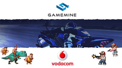 Vodacom partners mobile gaming subscription service, GameMine