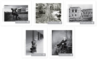 Canadian Photography 2017 Stamps (CNW Group/Canada Post)