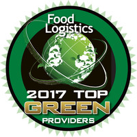 PLM recognized as top Green Provider for 2017 from Food Logistics magazine