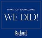 WE DO, The Campaign for Bucknell University, Surpasses $500 Million Goal
