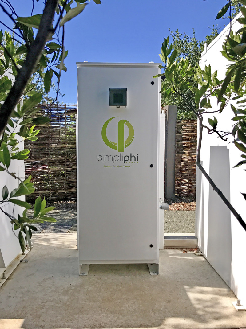 The Stone Edge Farm Winery recently installed the SimpliPhi AccESS outside as a part of its microgrid project. As a living laboratory the microgrid is designed to test and validate new advances in energy hardware and software that combine to create power security and efficiency, both on and off grid.