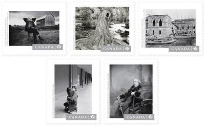 Timbres des oeuvres de photographes, Postes Canada (Groupe CNW/Postes Canada)