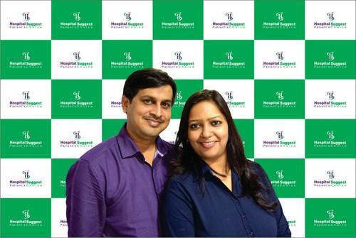 Co-founders - Prassant Kumar & Smita Kumar (PRNewsfoto/Janhvi Hospital Private Ltd)