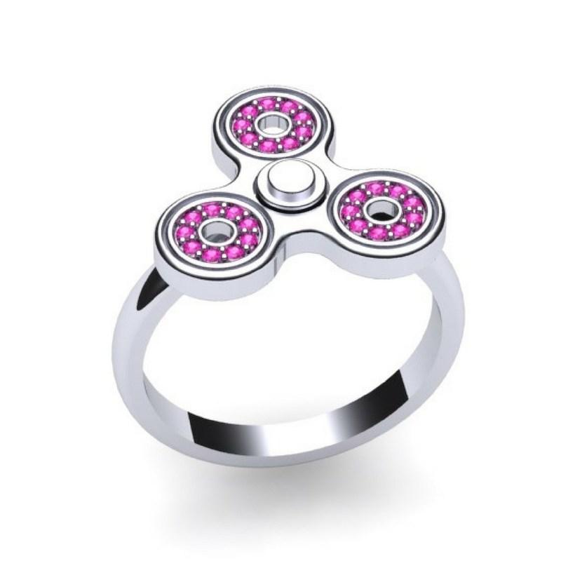 Worlds Smallest Working Fidget Spinner Ring