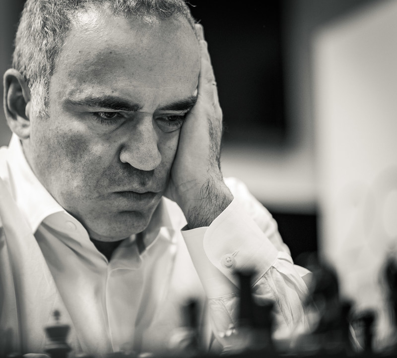 Legendary World Champion and 13th World Champion in chess history, Garry Kasparov, is coming out of retirement to participate in the inaugural Saint Louis Rapid and Blitz Event - the fourth stop on the 2017 Grand Chess Tour - held at the Chess Club and Scholastic Center of Saint Louis Aug. 14-19, 2017. Kasparov came to international fame as the youngest world chess champion in history in 1985 at the age of 22. He retired from professional chess in 2005 after a record 20 years as the world's top-ranked player. Photo credit: Chess Club and Scholastic Center of Saint Louis. (PRNewsfoto/Chess Club and Scholastic...)