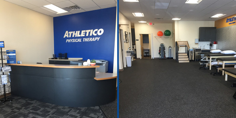 Athletico Grand Rapids – Kentwood is conveniently located in the strip mall across the street from East Kentwood High School.