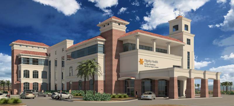 The new Dignity Health-St. Rose Dominican North Las Vegas Campus, built through a partnership with Emerus Holdings Inc., will help address a critical shortage of medical care in Nevada.