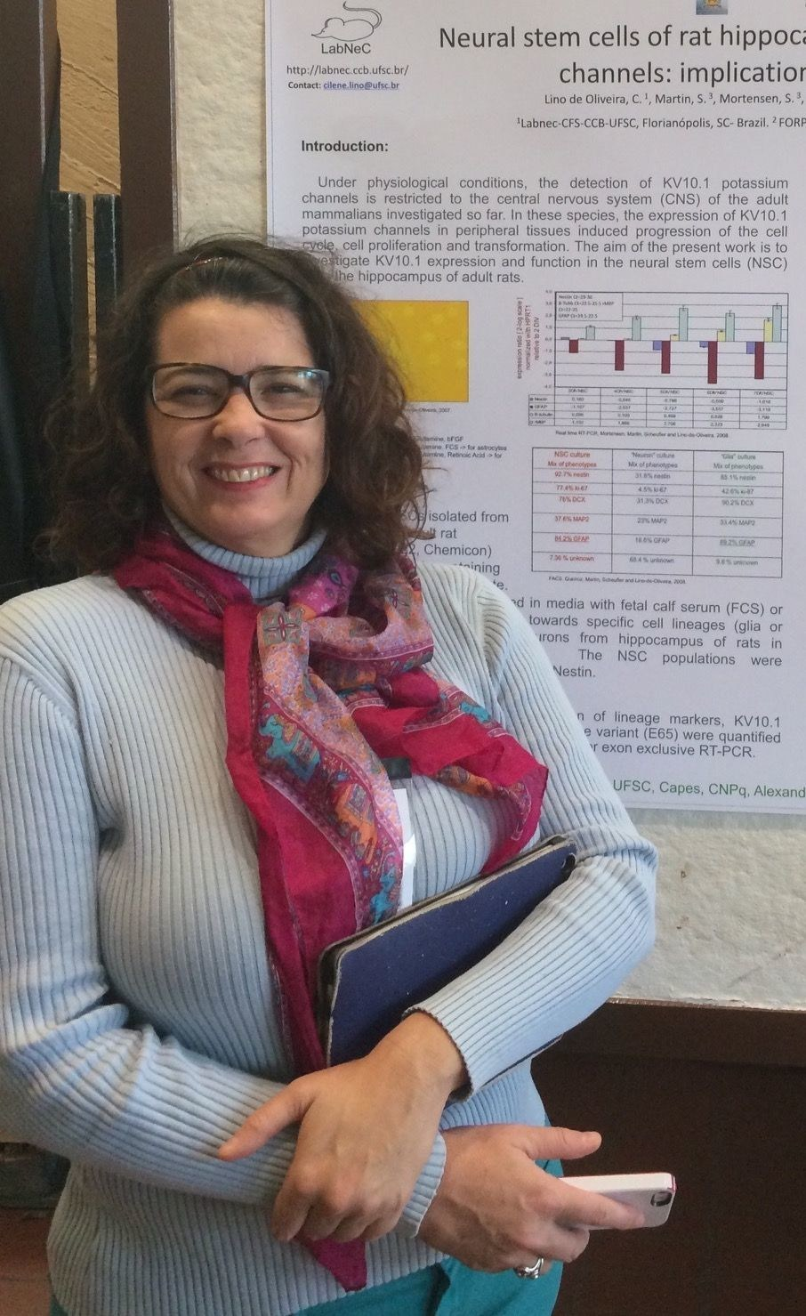 This year's winner Cilene Lino de Oliveira (PRNewsfoto/Basel Declaration Society)