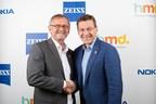 Pekka Rantala, CMO, HMD Global and Winfried Scherle, EVP and Head of Consumer Optics, ZEISS (PRNewsfoto/HMD Global and ZEISS)
