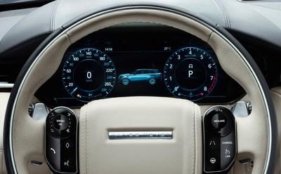 Fully reconfigurable instrument cluster from Visteon on all-new Range Rover Velar