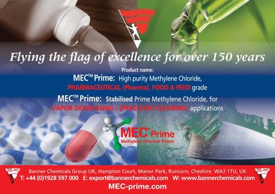 MEC-Prime PHARMACEUTICAL (PHARMA) ACS  Banner Chemicals UK (PRNewsfoto/Banner Chemicals UK)