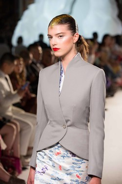 Hainan Airlines New Uniform at Couture Show