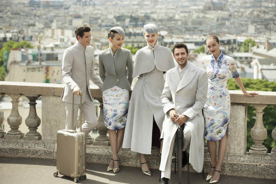 Hainan Airlines New Uniform in Paris