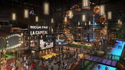 Galeries de la Capitale; Maquette du nouveau Méga Parc (Groupe CNW/GALERIES DE LA CAPITALE)