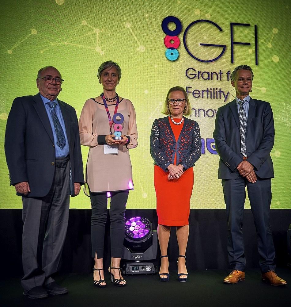 At the 2017 GFI ceremony (PRNewsfoto/Merck)