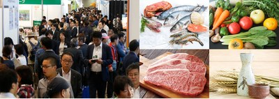 A scene from a concurrent show in 2016 and images of exhibits (PRNewsfoto/Reed Exhibitions Japan Ltd.)