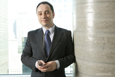 Sébastien Barangé, vice-président communications et affaires publiques chez CGI et nouveau président du conseil d'administration d'ENSEMBLE pour le respect de la diversité (Groupe CNW/ENSEMBLE pour le respect de la diversité)