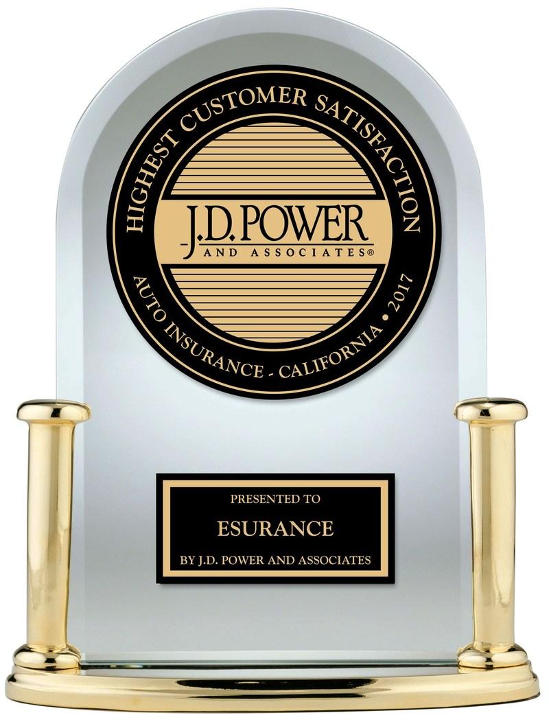 Esurance receives j d power award ranking highest for Jd power home insurance