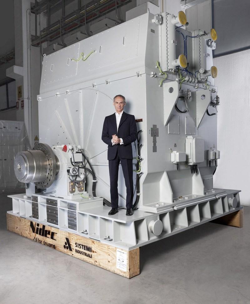 CEO OF NIDEC ASI (PRNewsfoto/Nidec ASI)