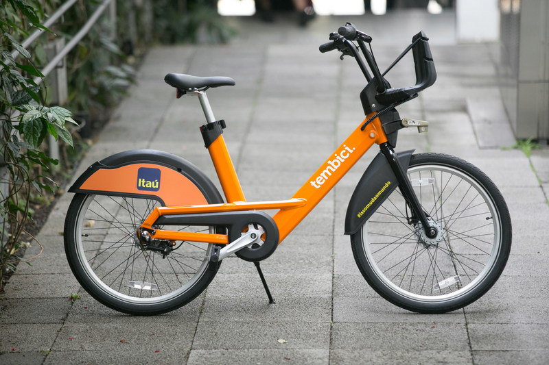 The FIT bike by PBSC will be strolling around Brazil starting in September 2017 (CNW Group/PBSC Urban Solutions)