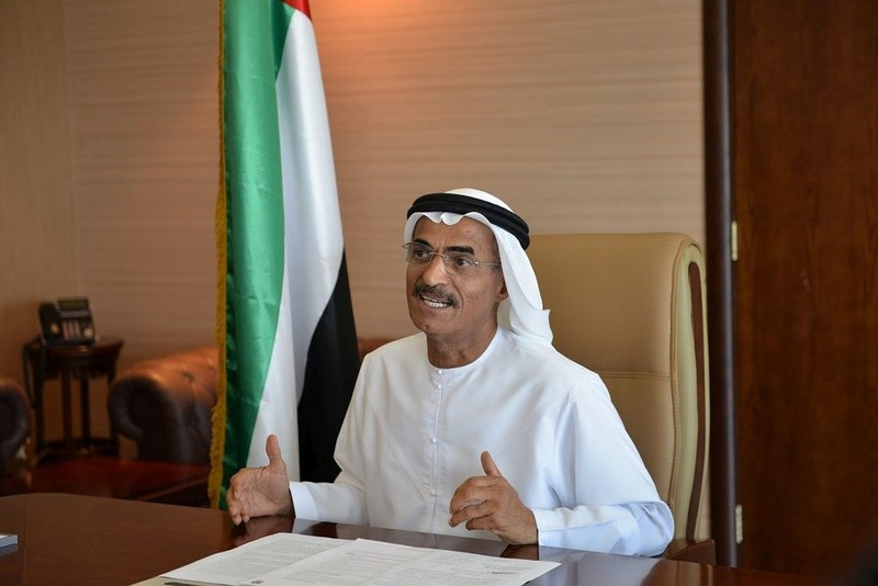 H.E. Dr. Abdullah Bin Mohammed Balheif Al Nuaimi, Minister of Infrastructure Development and Chairman of the Board of Directors of the Federal Transport Authority for Land and Maritime (PRNewsfoto/Federal Transport Authority)