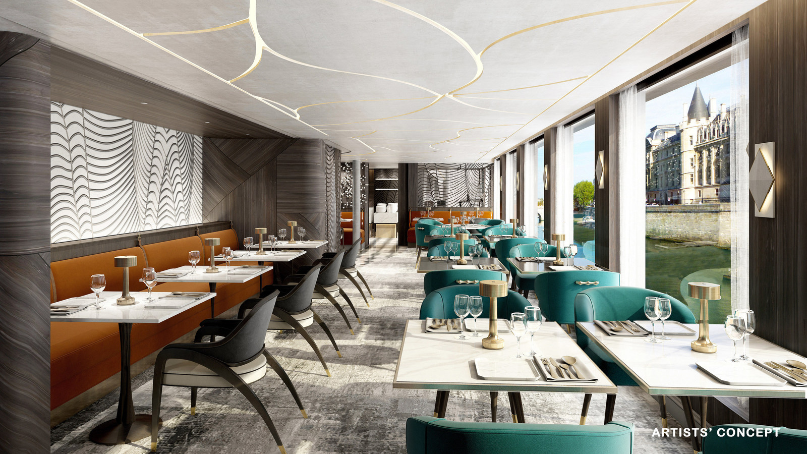 Αποτέλεσμα εικόνας για Crystal River Cruises unveils authentic, inspired culinary concepts for Crystal Bach