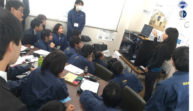 Daiwa Steel employees in the Taktopia training program leveraging the NVPro and NVCloud solutions.