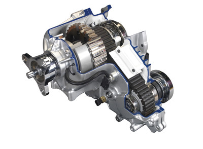 BorgWarner's Torque-On-Demand® transfer case with new vehicle dynamic control (VDC) technology transforms the rear-wheel drive Dodge Challenger GT into an all-wheel drive vehicle for a fun-to-drive experience in any weather or season.